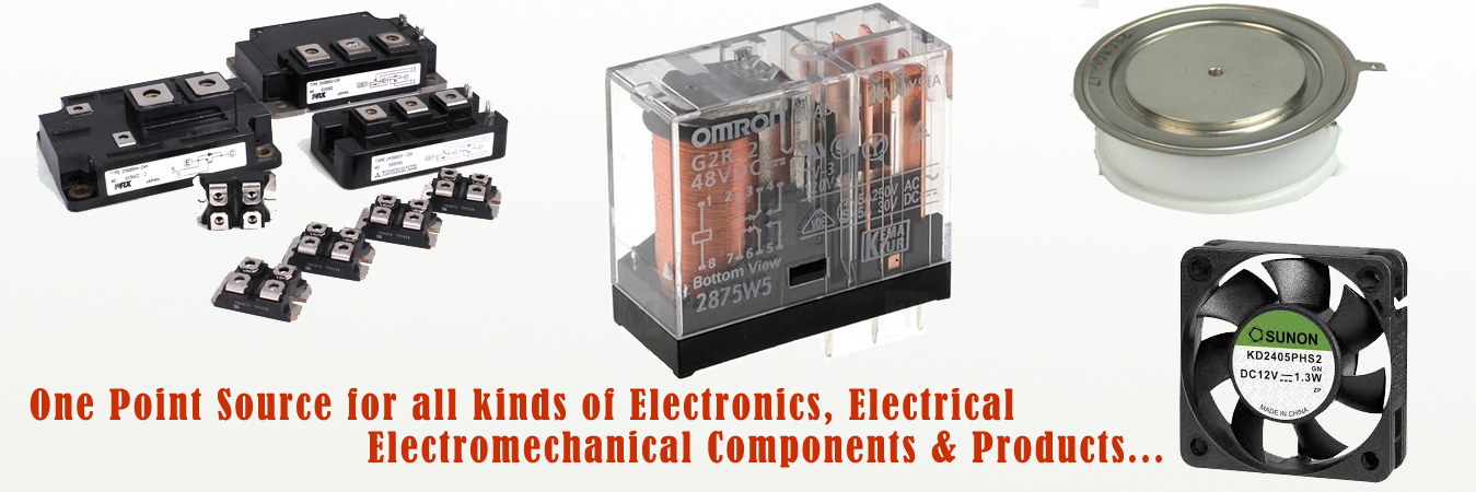 Electronic (Active and Passive) Components Distributor in Delhi ...